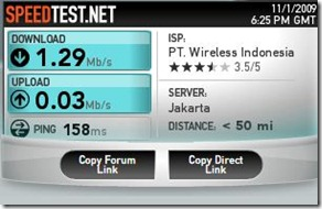 Capture SPEED TEST